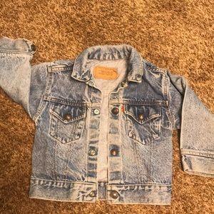 Levi Strauss Jean Jacket  Size 4